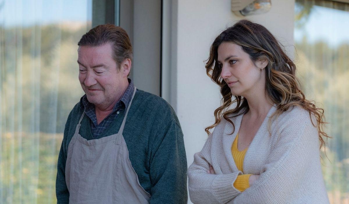Olivia - Forte come la verità: Philippe Duquesne (Blanchot) e Laetitia Milot (Olivia). Credits: Mediaset