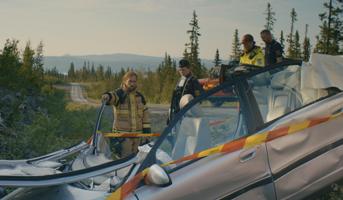 """Una scena di """"Primo soccorso"""", la serie tv svedese disponibile su NOW. Credits: Sky Italia"""