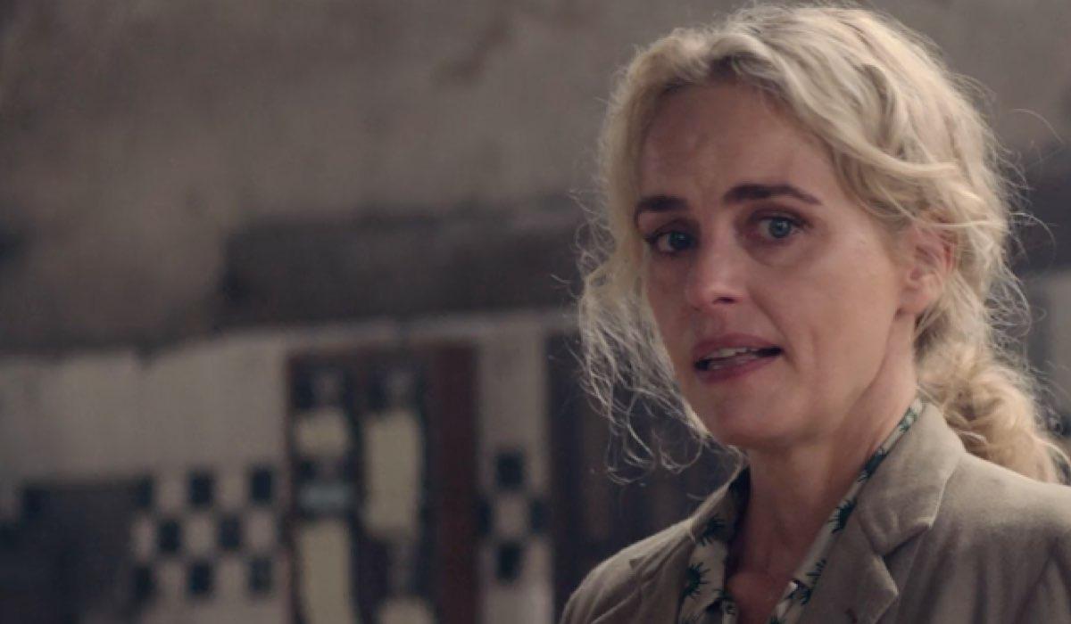 Screenshot Di Nina Hoss In Una Scena Del Trailer Di The Defeated Credits: Netflix