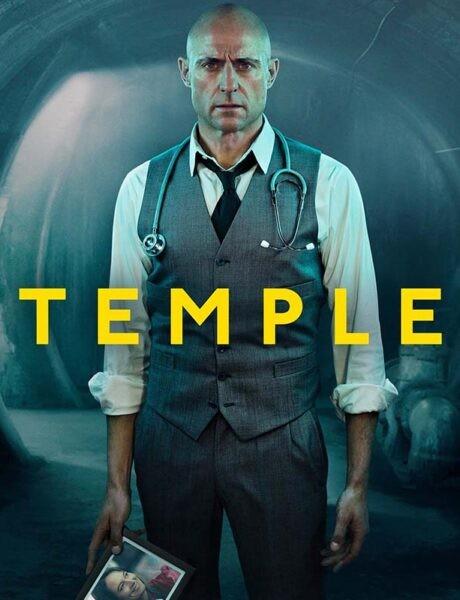 La locandina della serie TV Temple. Credits: Sky.