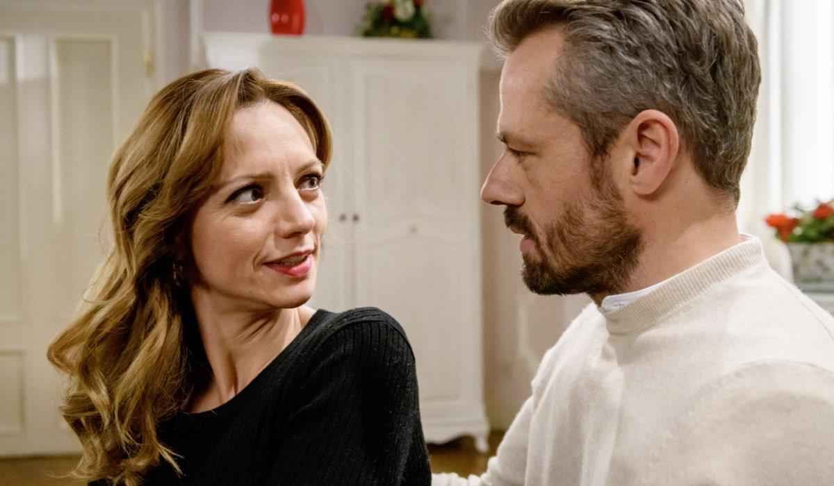 Ariane ed Erik In Una Scena Di Tempesta D'Amore Credits: Mediaset