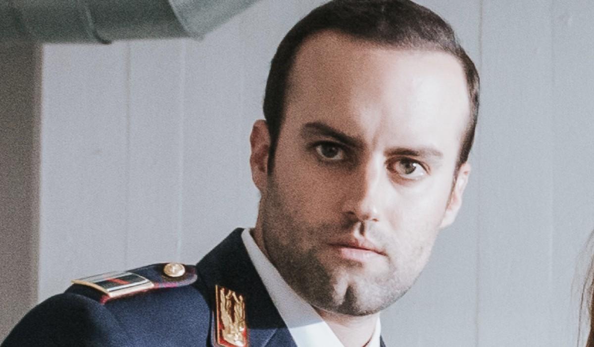 Francesco Zenzola (Lorusso) In Una Scena De L'ispettore Coliandro- Il Ritorno 4 Credits: Rai