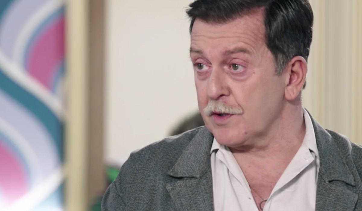 Pietro Genuardi (Armando Ferraris) in una scena dell'episodio 158 de