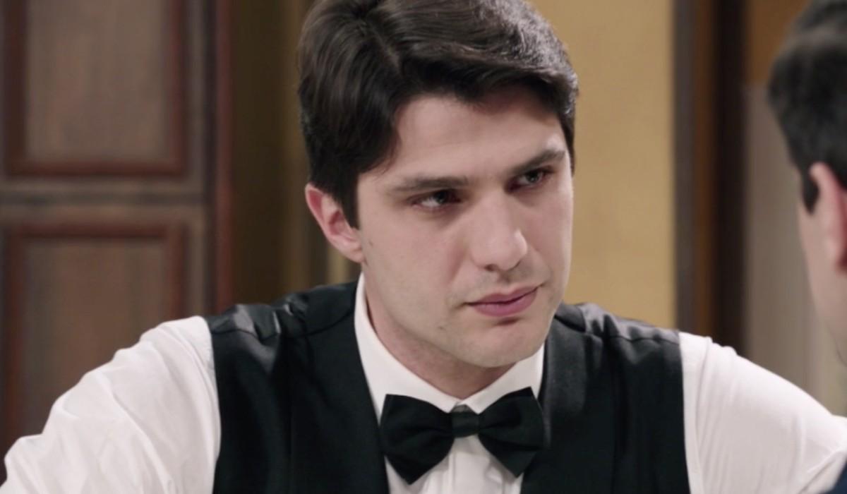 Pietro Masotti (Marcello Barbieri) in una scena dell'episodio 158 de