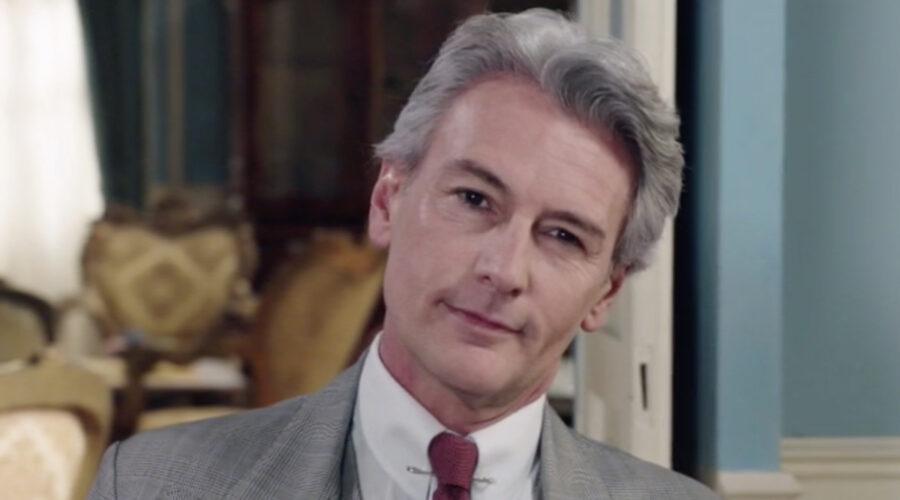 Roberto Farnesi (Umberto Guarnieri) in una scena dell'episodio 158 de