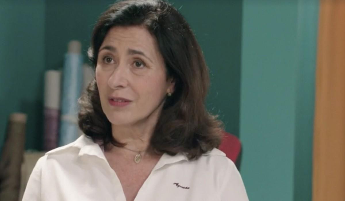 Antonella Attili (Agnese Amato) in una scena della puntata 13 de