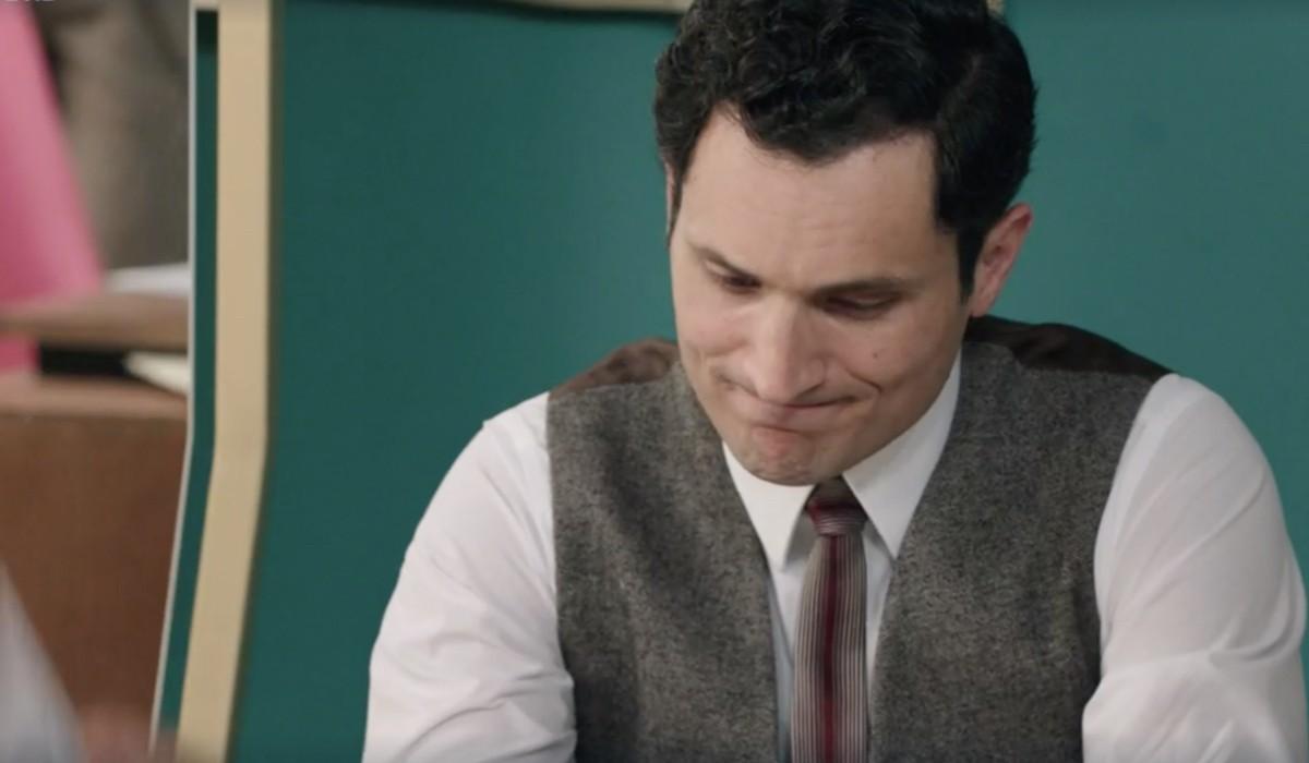 Alessandro Tersigni (Vittorio Conti) in una scena della puntata 2 de