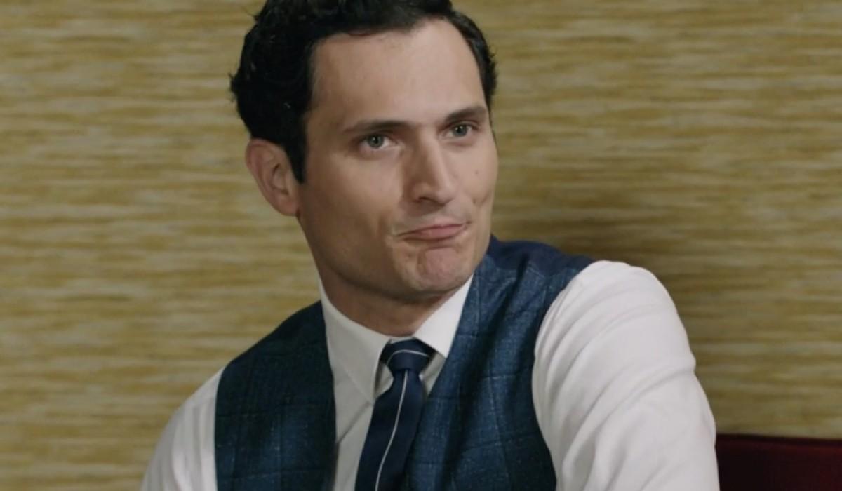 Alessandro Tersigni (Vittorio Conti) in una scena della puntata 12 de