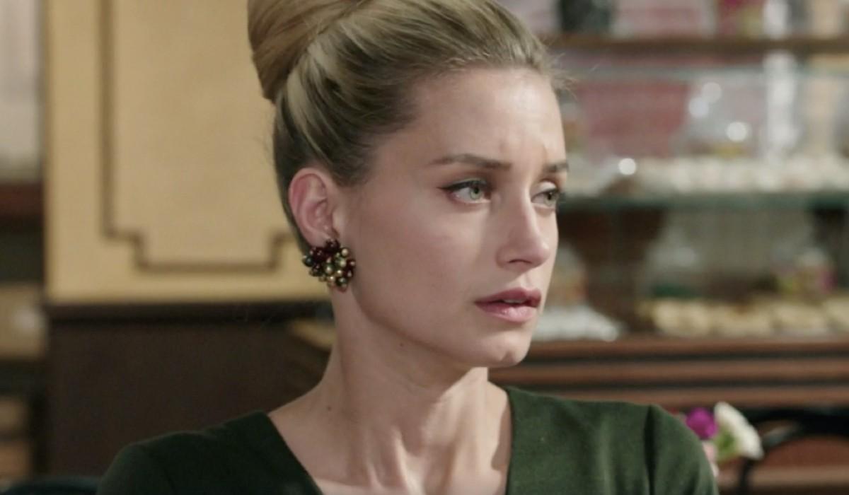 Giulia Arena (Ludovica Brancia di Montalto) in una scena della puntata 12 de
