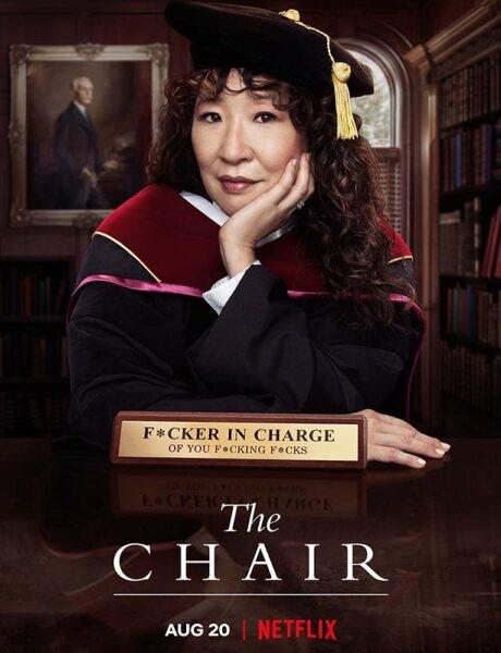 La locandina della serie TV La direttrice. Credits: Netflix.