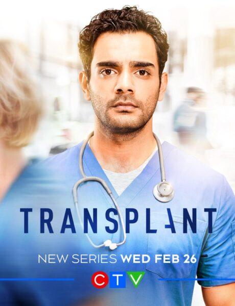 Locandina Ufficiale Di Transplant Credits Ctv e Sky Italia