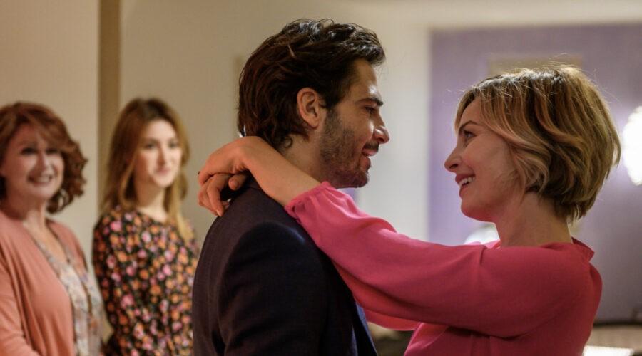 Marco Bocci (Diego) e Violante Placido (Elena) In