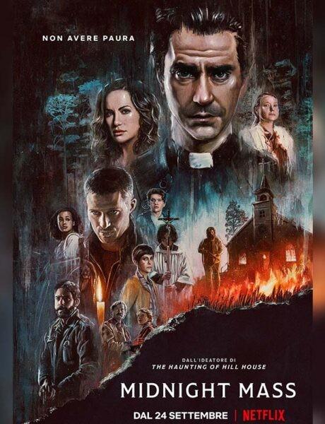 La locandina della serie TV Midnight Mass. Credits: Netflix.