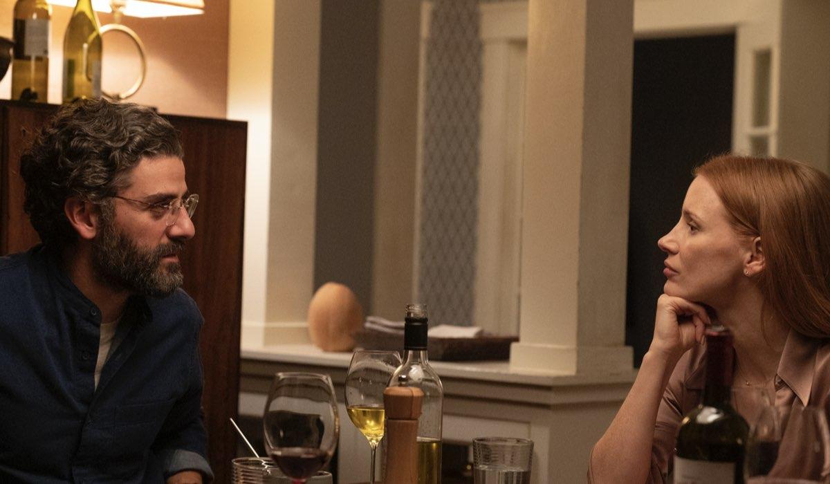 Oscar Isaac (Jonathan) e Jessica Chastain (Mira) In