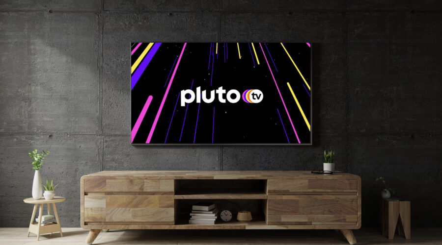 Pluto TV, la schermata servizio streaming. Credits: ViacomCBS Italia.