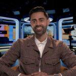 Hasan Minhaj nel corso della sua intervista a Tvserial.it. Credits: Cattura schermo/Apple TV+.
