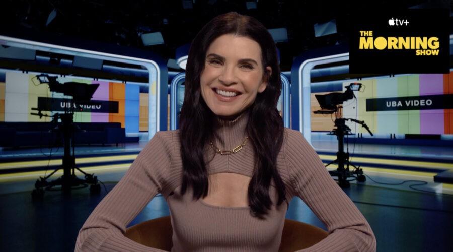 Julianna Margulies nel corso della sua intervista a Tvserial.it. Credits: Cattura schermo/Apple TV+.