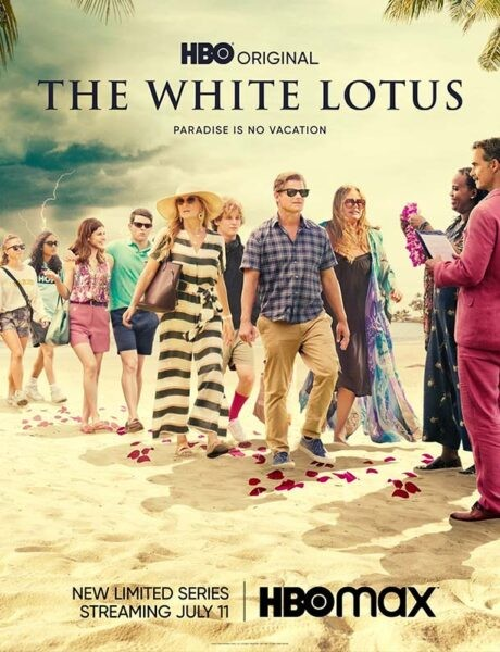 La locandina di The White Lotus. Credits: HBO/Sky.