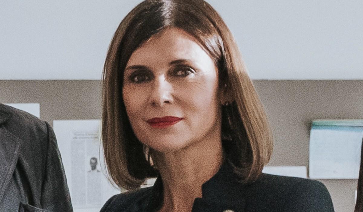 Veronika Logan (Longhi) In Una Scena De L'ispettore Coliandro- Il Ritorno 4 Credits: Rai