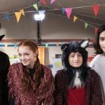 Adam Nour Marino, Laura Borgioli, Francesco Petit-Bon e Tiziano Uda In Halloweird. Credits: Rai
