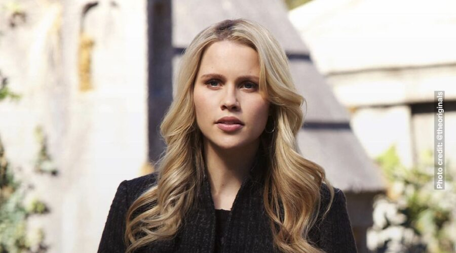 Claire Holt Nei Panni Di Rebekah Mikaelson In The Originals. Credits: Instagram Via @theoriginals