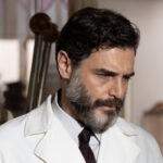 Daniele Pecci(Cesare Corvara) in una scena di