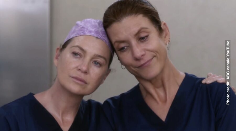 Ellen Pompeo E Kate Walsh In Greys Anatomy 18. Credits: Canale Youtube Ufficiale Di ABC