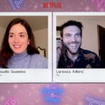 "Da sinistra: Claudia Gusmano e Lorenzo Adorni, i protagonisti di ""Guida astrologica per cuori infranti"". Credits: Cattura schermo Netflix/Tvserial.it"