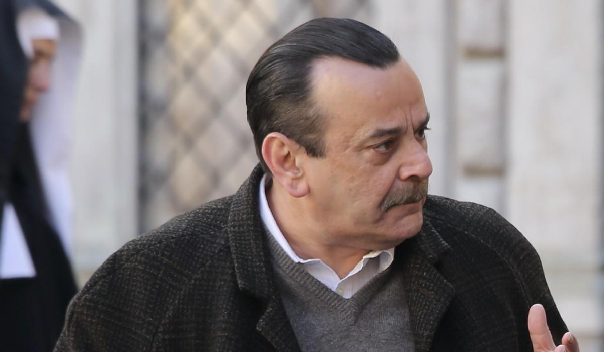 Nicola Rignanese (Giuseppe Amato) in una scena de
