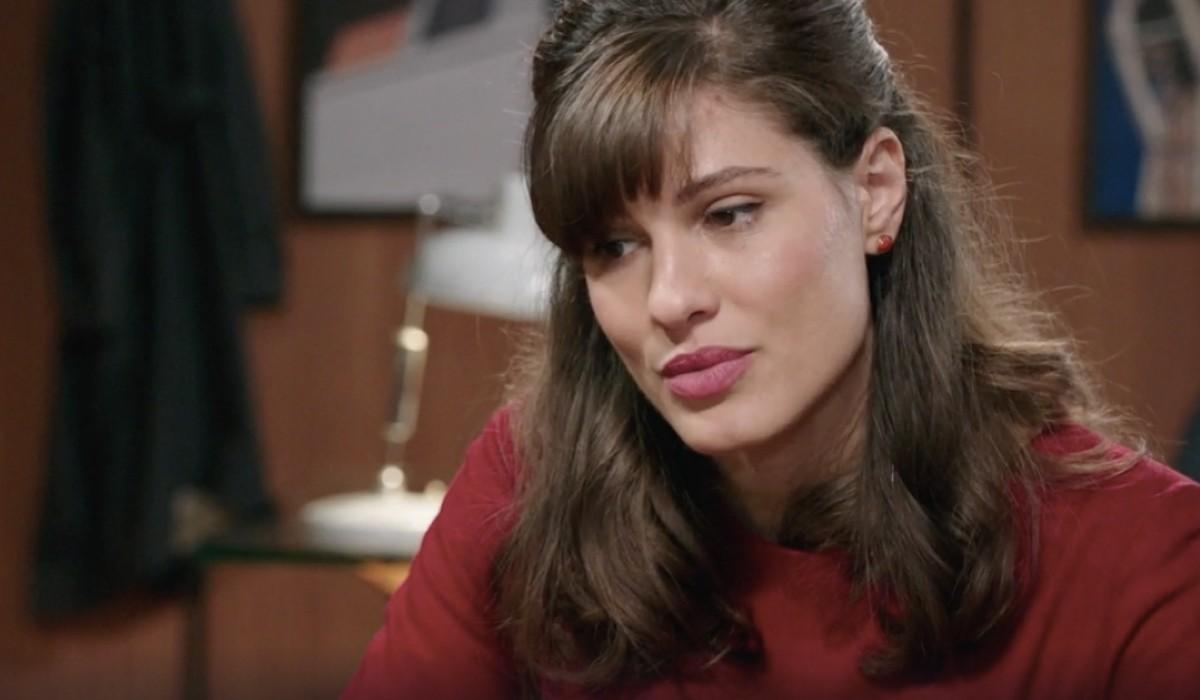 Giulia Vecchio (Anna Imbriani) in una scena della puntata 23 de