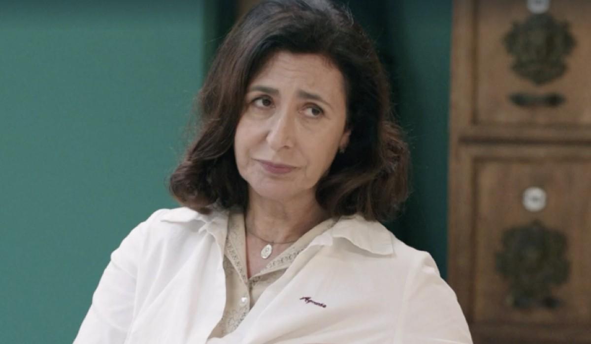 Antonella Attili (Agnese Amato) in una scena della puntata 14 de