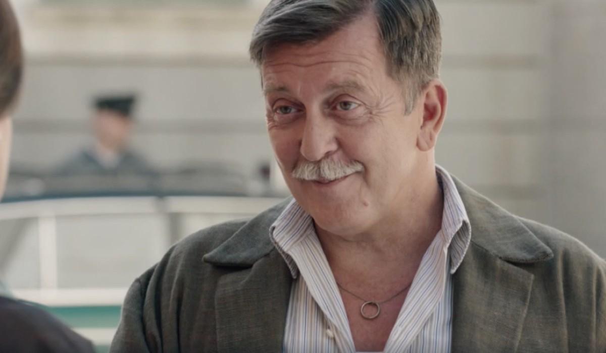 Pietro Genuardi (Armando Ferraris) in una scena dell'episodio 17 de