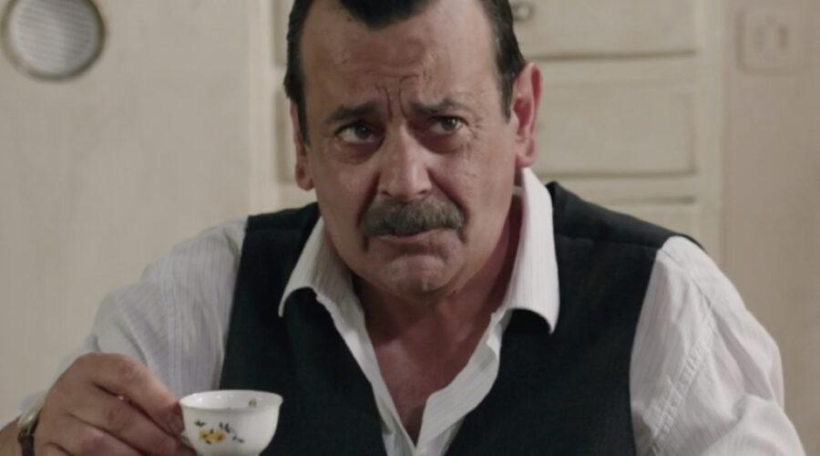 Nicola Rignanese (Giuseppe Amato) in una scena della puntata 17 de