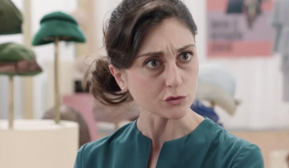 Elisa Cheli (Paola Galletti in Cecchi) in una scena della puntata 17 de