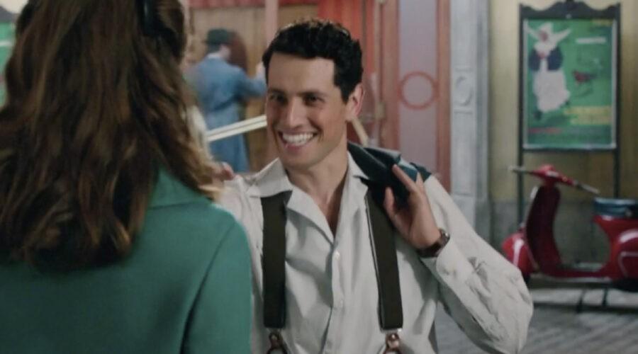 Emanuel Caserio (Salvatore Amato) in una scena della puntata 18 de