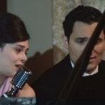 Neva Leoni (Tina Amato) e Alessandro Tersigni (Vittorio Conti) in una scena della puntata 29 de
