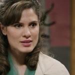 Giulia Vecchio (Anna Imbriani) in una scena della puntata 31 de