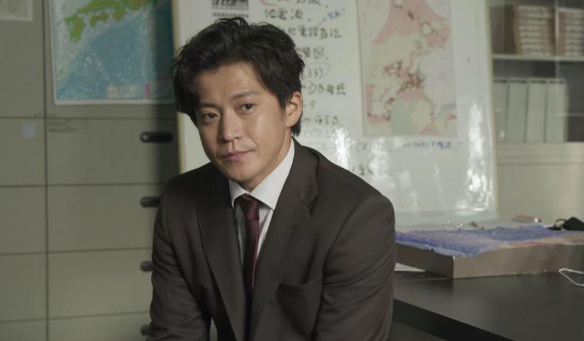 Japan Sinks People of Hope: Shun Oguri (Keishi Amami) in una scena della serie. Credits: Netflix