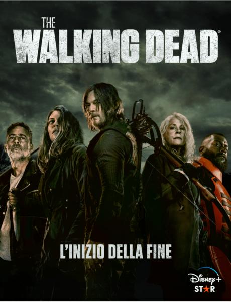 Keyart Ufficiale The Walking Dead 11 Stagione Credits Disney Plus