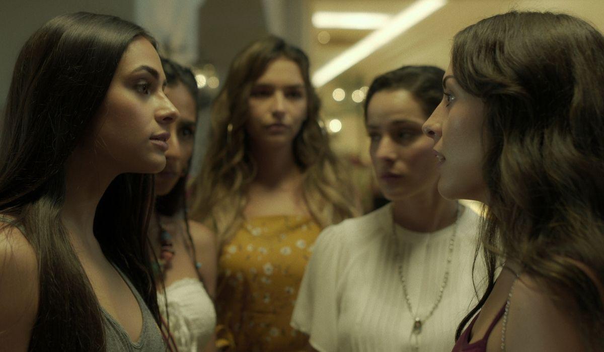 La Vendetta delle Juana (da sinistra): Juana Valentina (Renata Notni), Juana Bautista (Sofia Engberg) e Juana Mat (Juanita Arias). Credits: Netflix