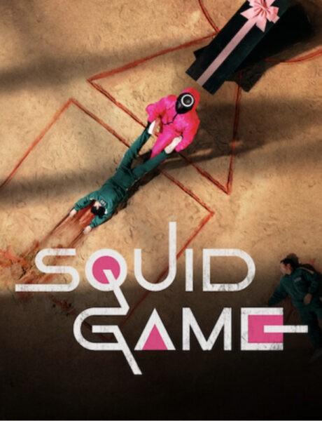 Locandina Squid Game Credits Netflix