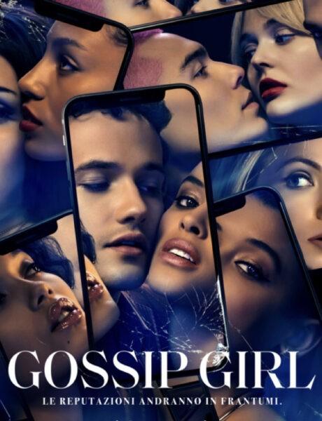 Locandina Ufficiale Gossip Girl Credits Sky