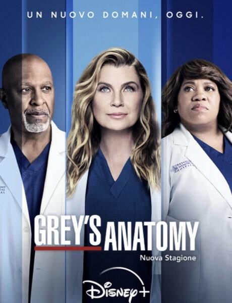 Locandina Ufficiale Grey's Anatomy Credits Disney+