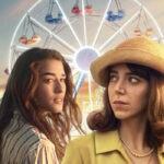 """Da sinistra: Simona Tabasco e Lia Grieco, le protagoniste di """"Luna Park"""". Credits: Netflix."""