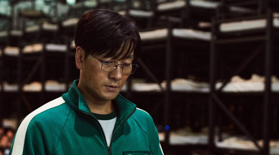 Park Hae-soo (Cho Sang-woo) in Squid Game Credits: Youngkyu Park/ Netflix