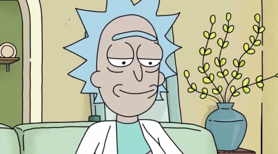 Screenshot Di Rick Dal Trailer Ufficiale Di Rick E Morty Credits: Netflix
