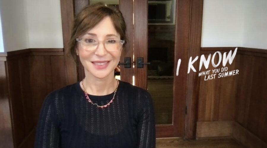 """Sara Goodman, produttrice esecutiva di """"So Cosa Hai Fatto"""", intervistata da Tvserial.it. Credits: Cattura Schermo/Amazon."""
