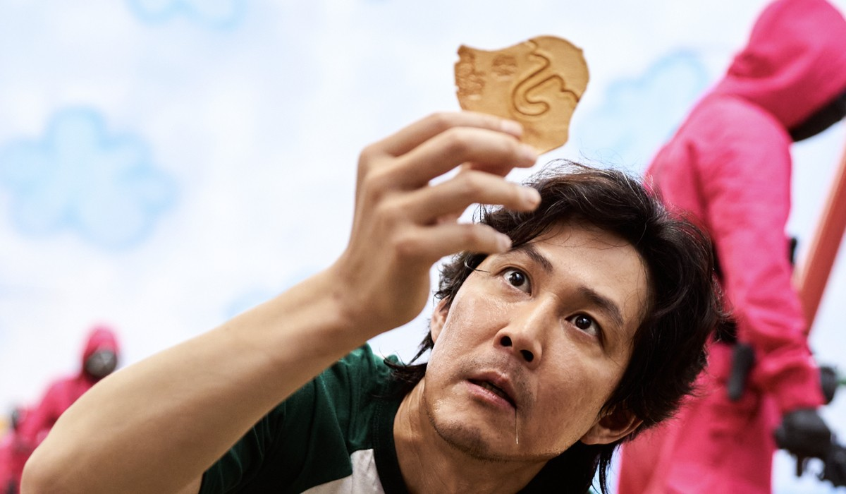 "Seong Gi-hun (Lee Jung-jae) in una scena di ""Squid Game"". Credits: Youngkyu Park/Netflix."