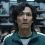 """Seong Gi-hun (Lee Jung-jae), il protagonista in una fotogramma di """"Squid Game"""". Credits: Netflix/Cattura schermo."""
